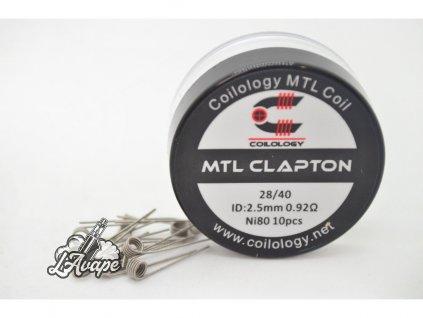 Coilogy MTL Clapton Ni80 10 ks - 0,92 Ohm