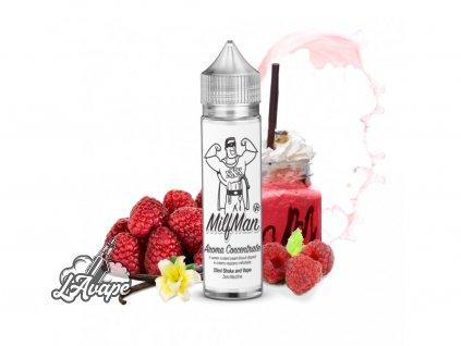 Milkshakes Milfman V2 20 ml - Milfman je skvělá kombinace malin a vanilky s jemným mléčným základem.- lavape.cz
