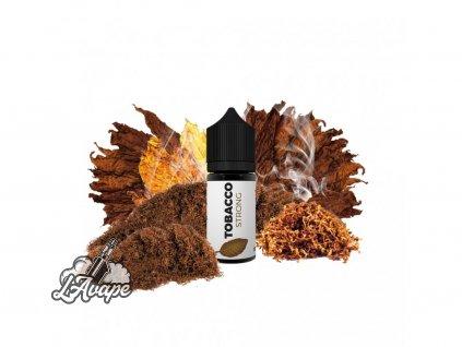 Tobacco - Strong 10 ml - silný a výrazný tabák, který se maximálně přibližuje chuti klasické cigarety - lavape.cz