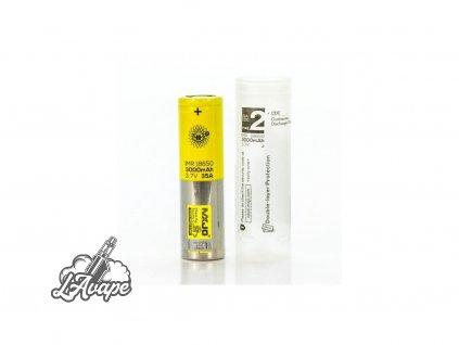 MXJO - baterie 18650 - 3000mAh - 35A + plastový obal zdarma - lavape.cz