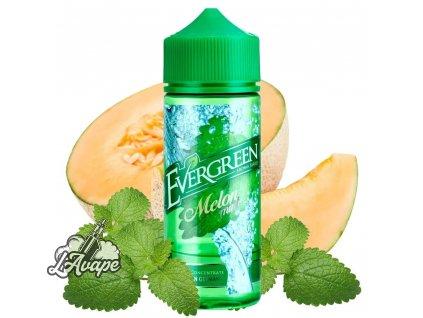 Produkt Evergreen Melon Mint SnV 30 ml aroma ve 120 ml Chubby gorila lahvičce - meloun, máta. lavape.cz