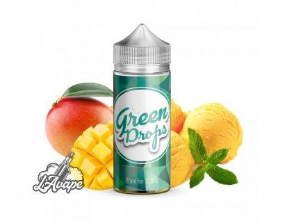 Produkt: Infamous Drops Green Drops - mango, zmrzlina, máta, 20 ml SnV - LAVAPE.CZ