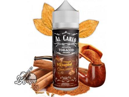Příchuť 15 ml v 120 ml lahvičce - Al Carlo Roasted Cinnamon. Tabák, skořice. lavape.cz