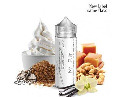 Příchuť 24ml v 120ml lahvičce - AEON Journey Classic Mr. Fulir. Pečené oříšky, tabák, smetana. lavape.cz