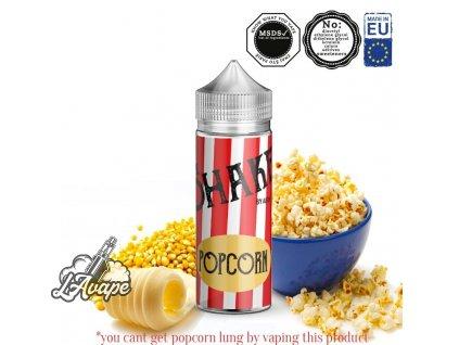 Příchuť 24ml v 120ml lahvičce - AEON SHAKE Popcorn. Popcorn. LAVAPE.CZ