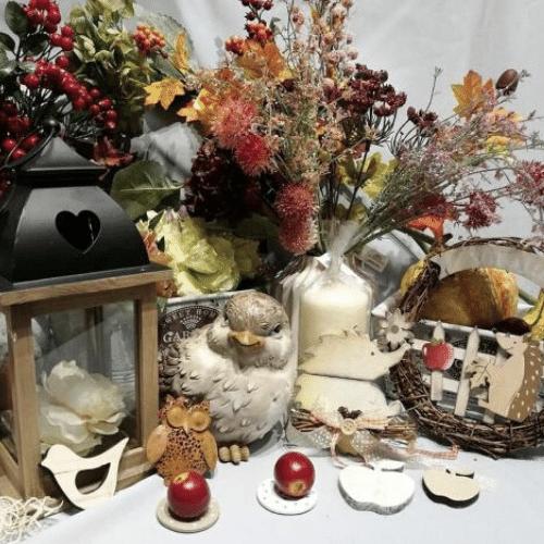 Jesenné ,ozdoby a doplnky