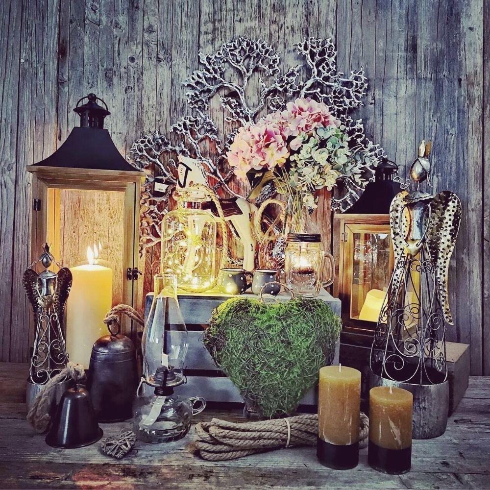 Lampáše, svietniky, svetielka