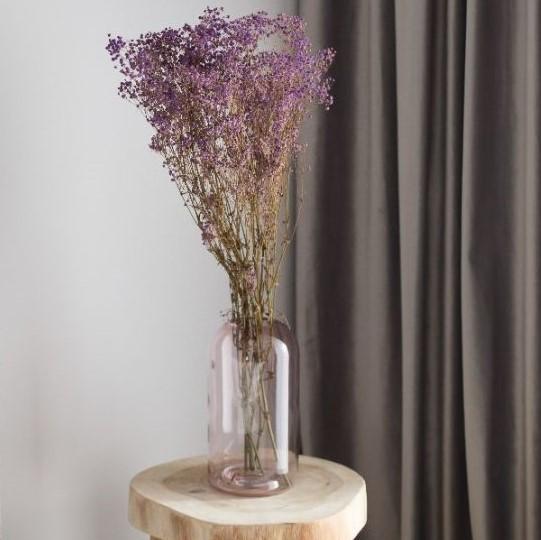 Sušené kvety a trávy