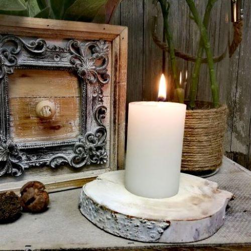 Sviečky bez parfumácie