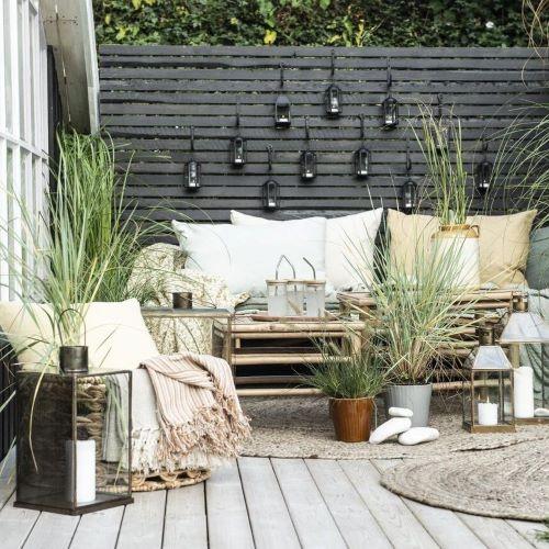 Posedenie na záhrade a terase