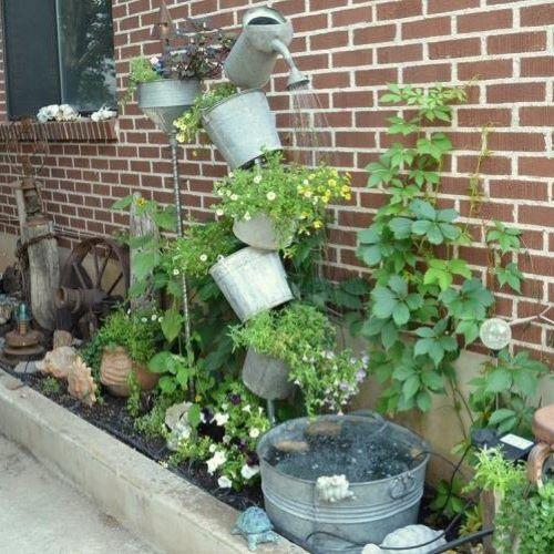 Záhradné fontány pre Vašu záhradu a terasu