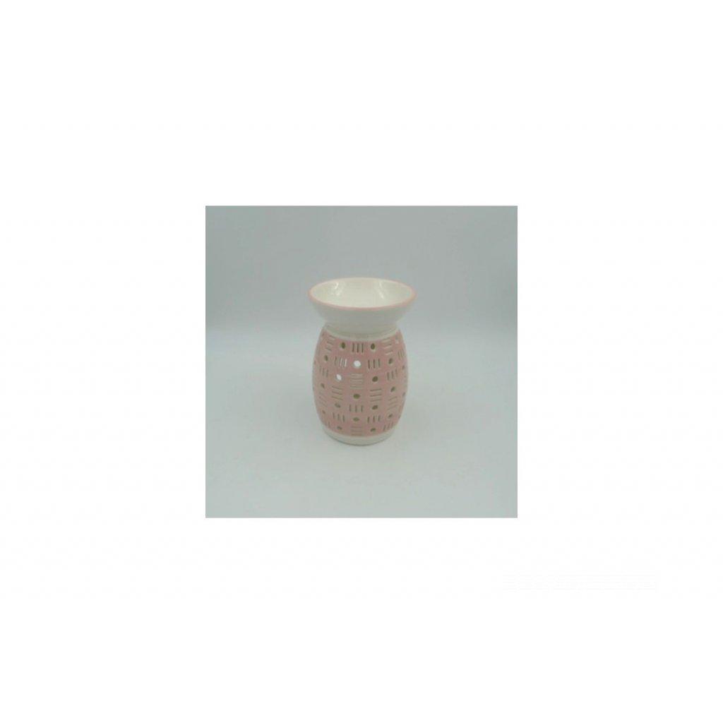 Aroma lampa keramická,farba dírkování