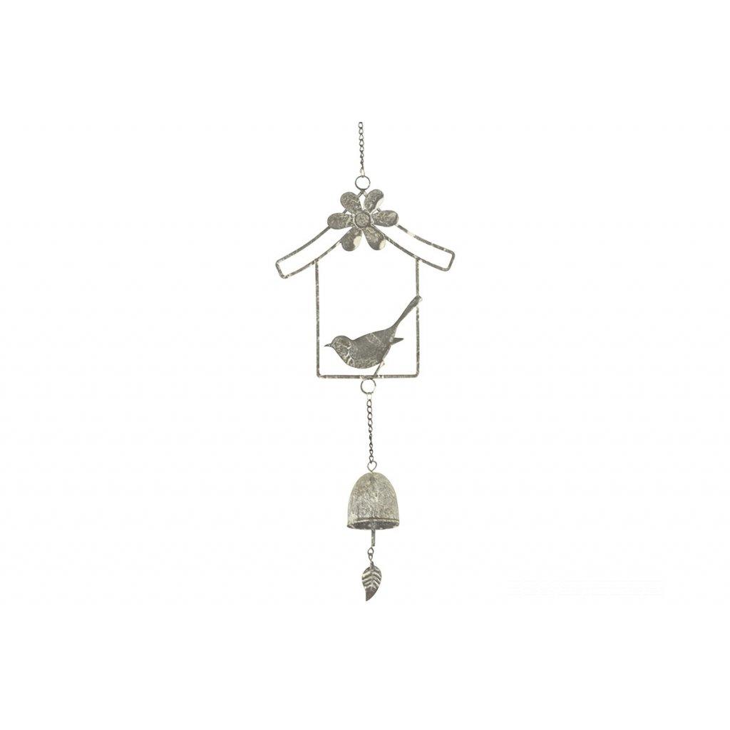 Zvonkohra kovová dekorácia