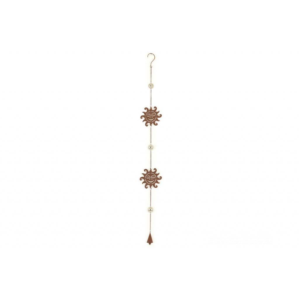 Zvonkohra, kovová dekorácia,10x120cm
