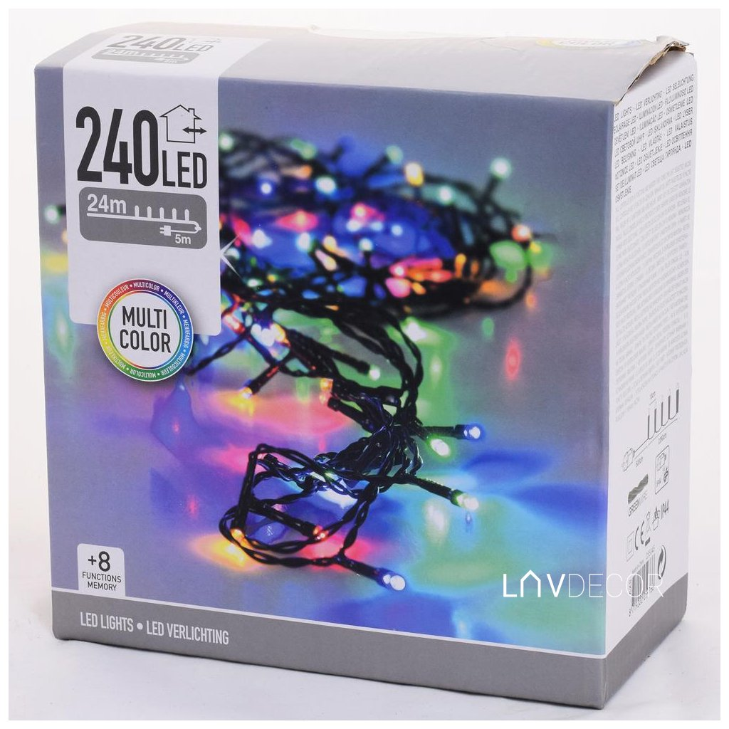 LED SVETIELKA /240/MULTI,IND/OUT,FUNK8