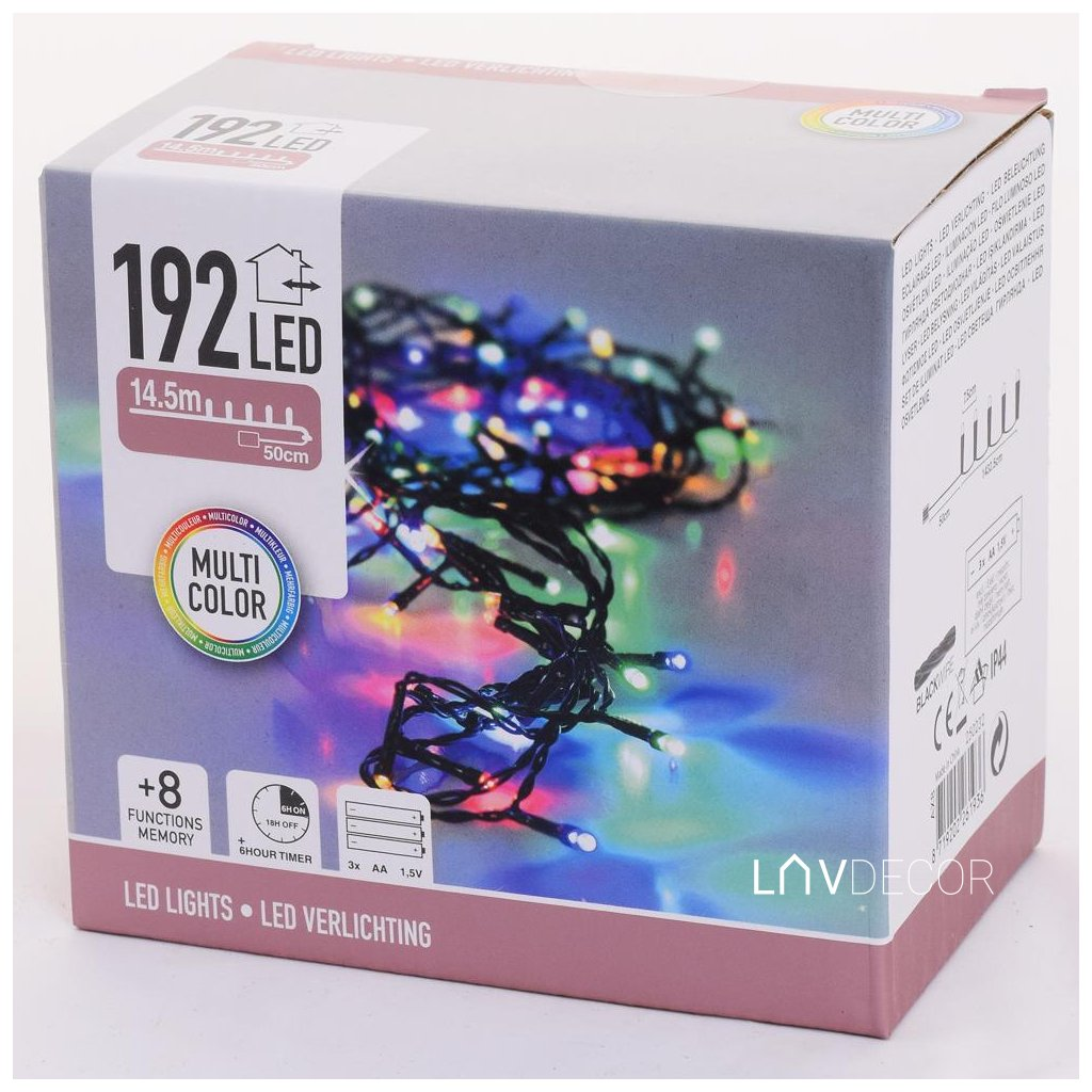 LED SVET/192/MULTI,IND/OUT,BAT,TIMER,FUNK8