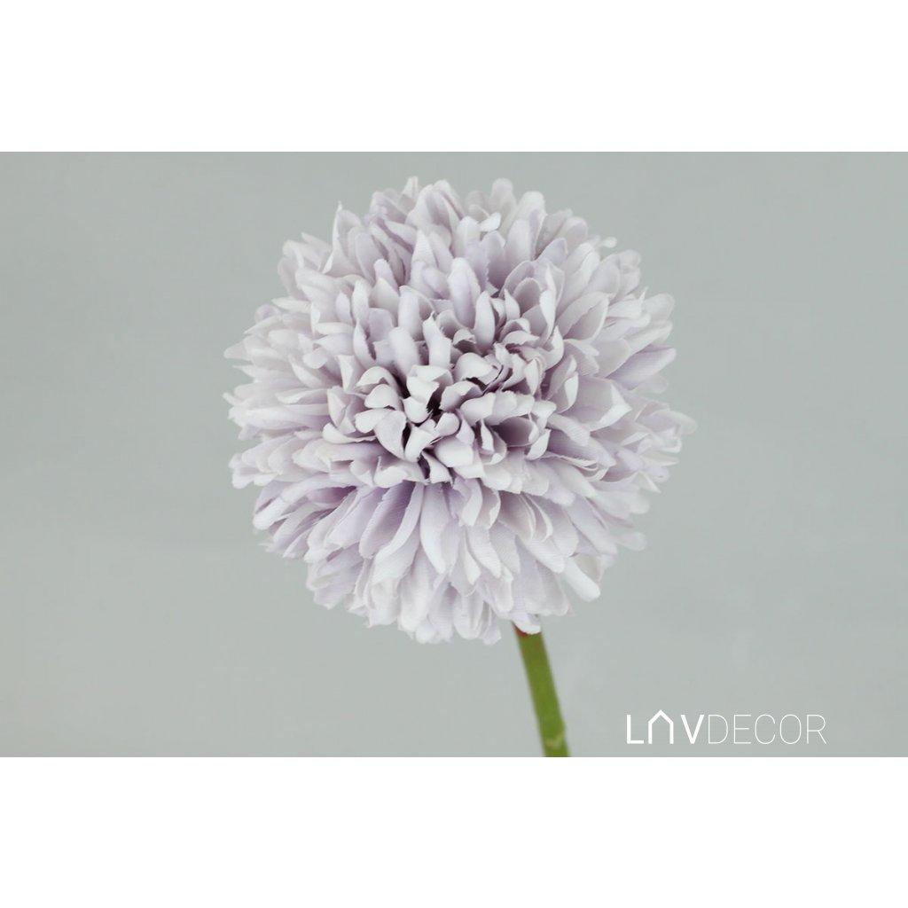Kvet cesnaku, farba svetlo fialová 29x7x7cm