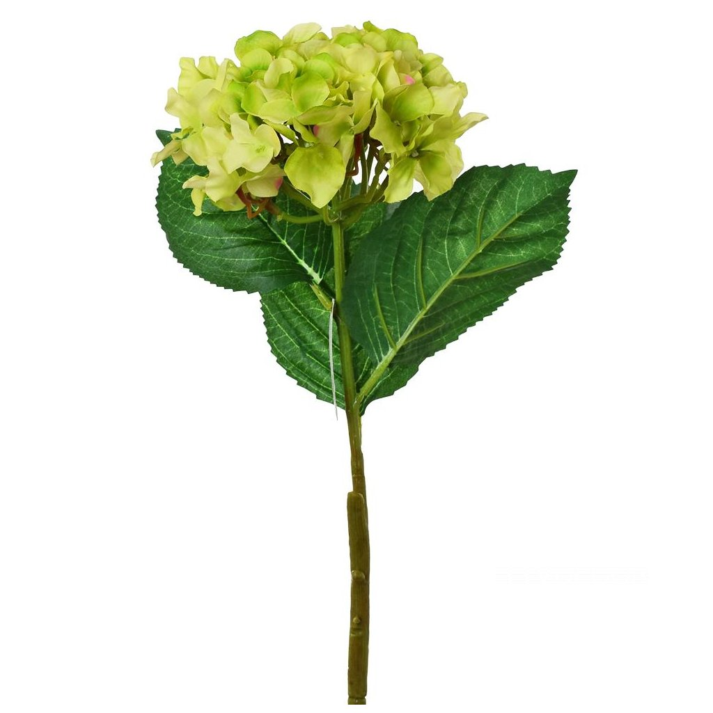 HORTENZIA ZELENÁ umelý kvet 50cm