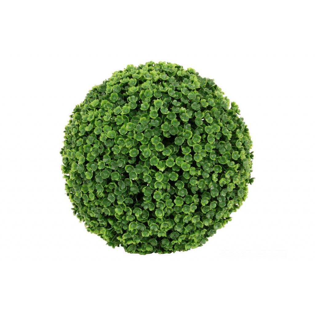 Guľa zo zelených lístkov priemer 15cm