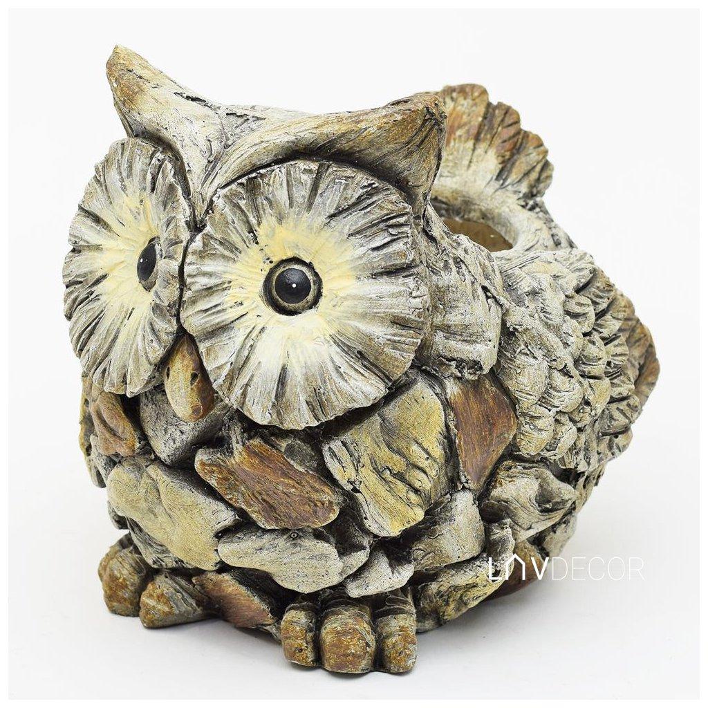 SOVA obal na kvety MGO keramika 24,5X22X22CM
