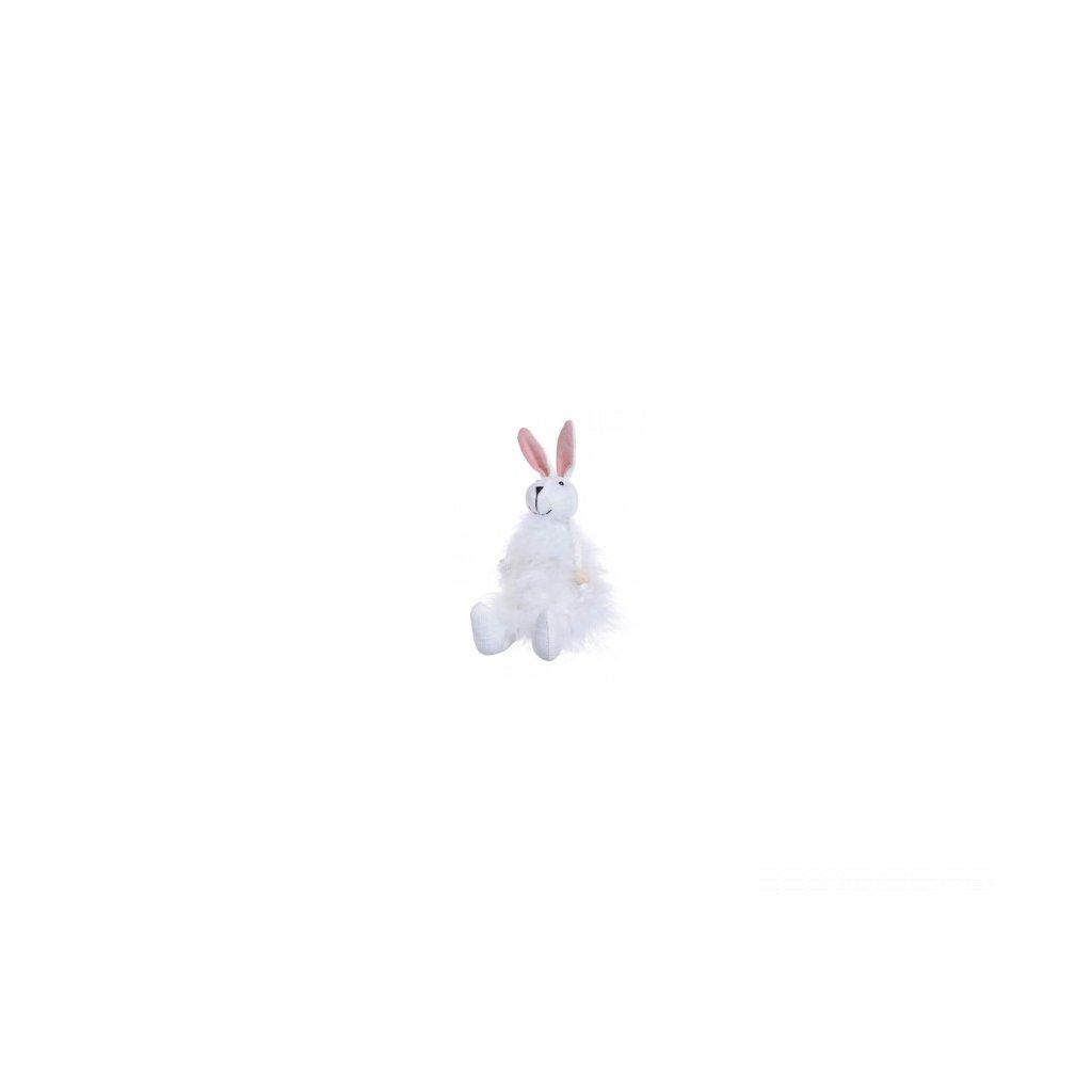 puchaty zajaczek17 cm