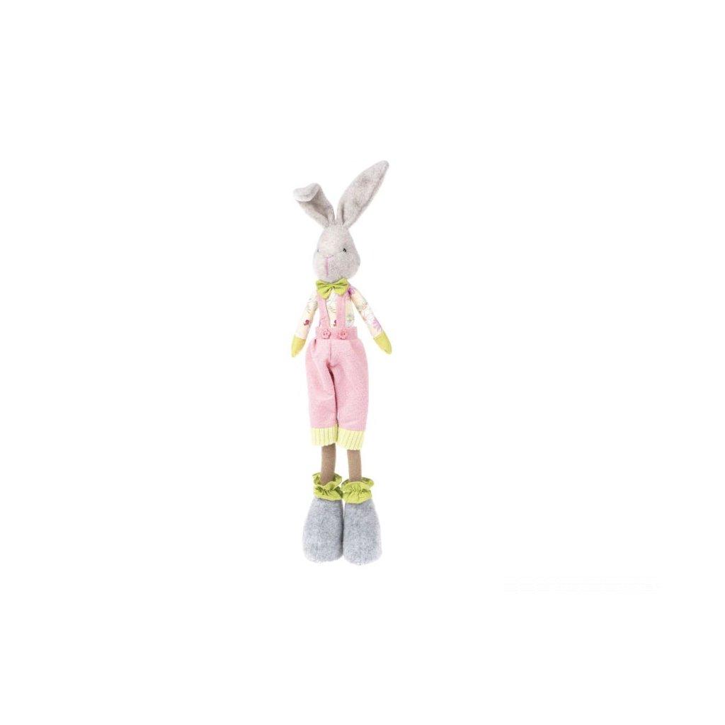 Zajac stojaci textil 50cm