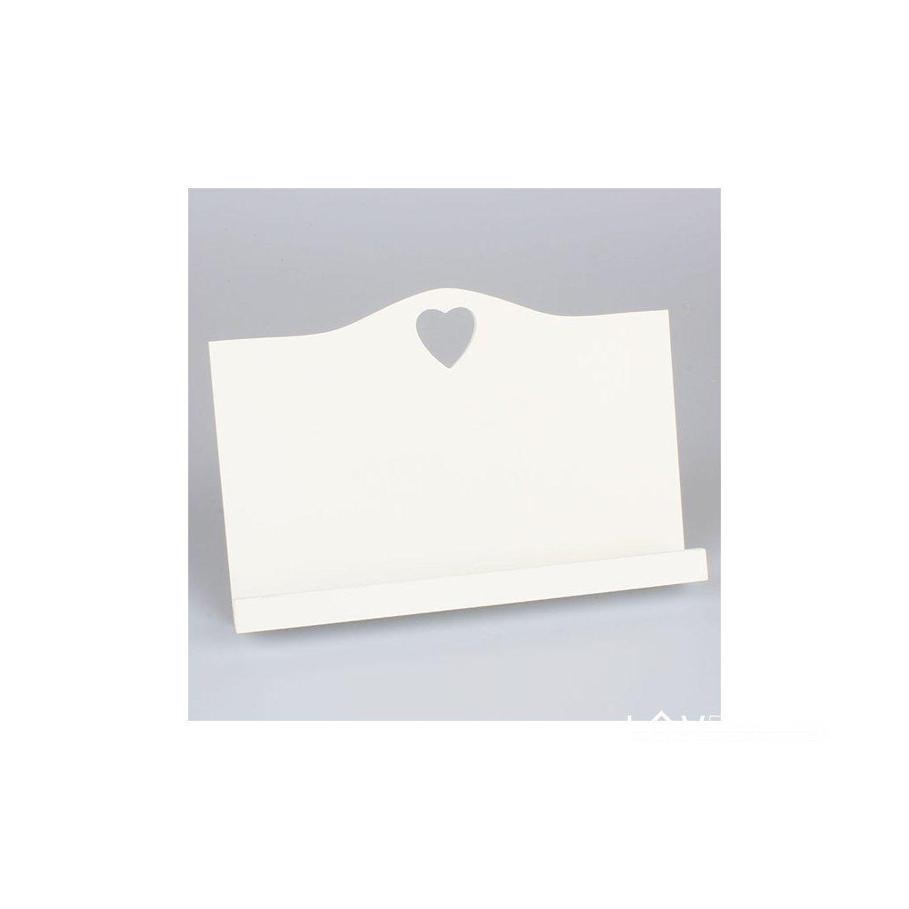 Drevený stojan na knižku/kuchárku 30 × 20 × 5 cm