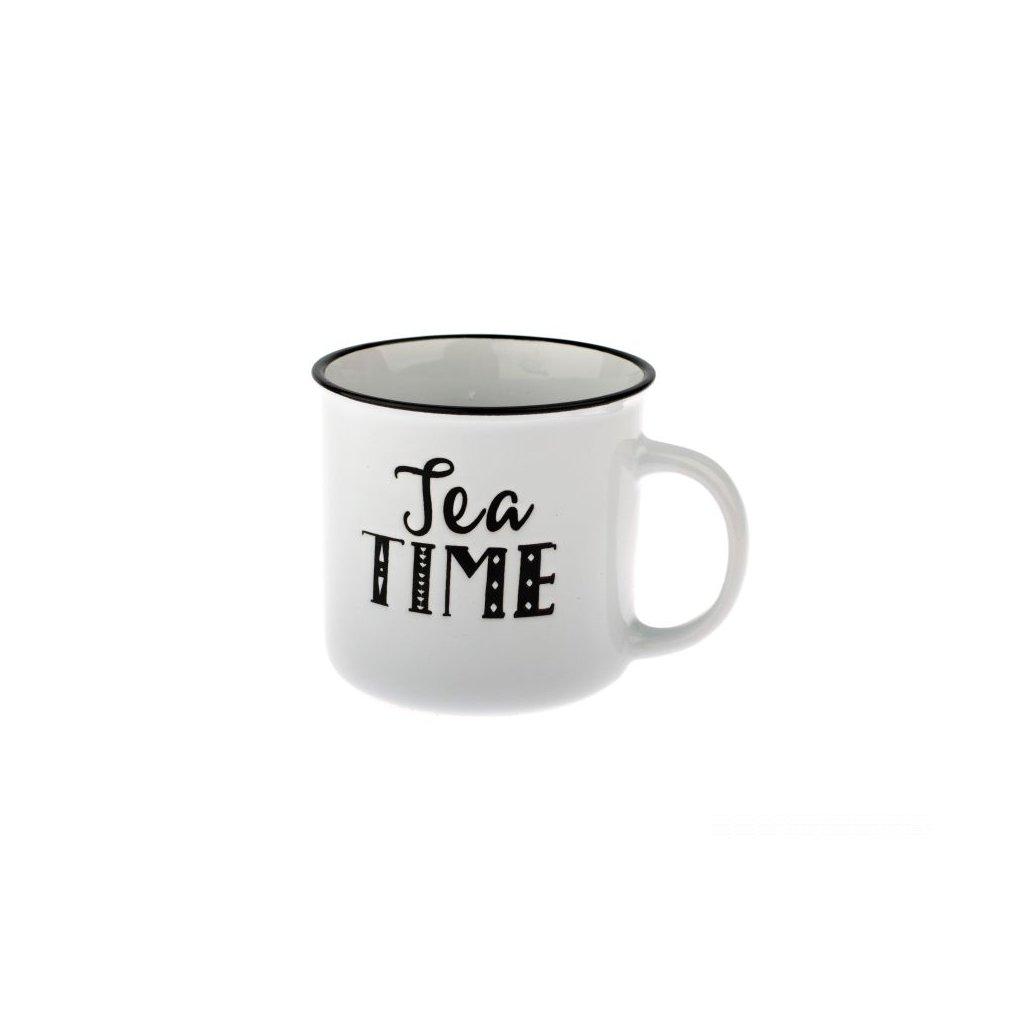 KERAMICKÝ HRNČEK TEA TIME 430ml