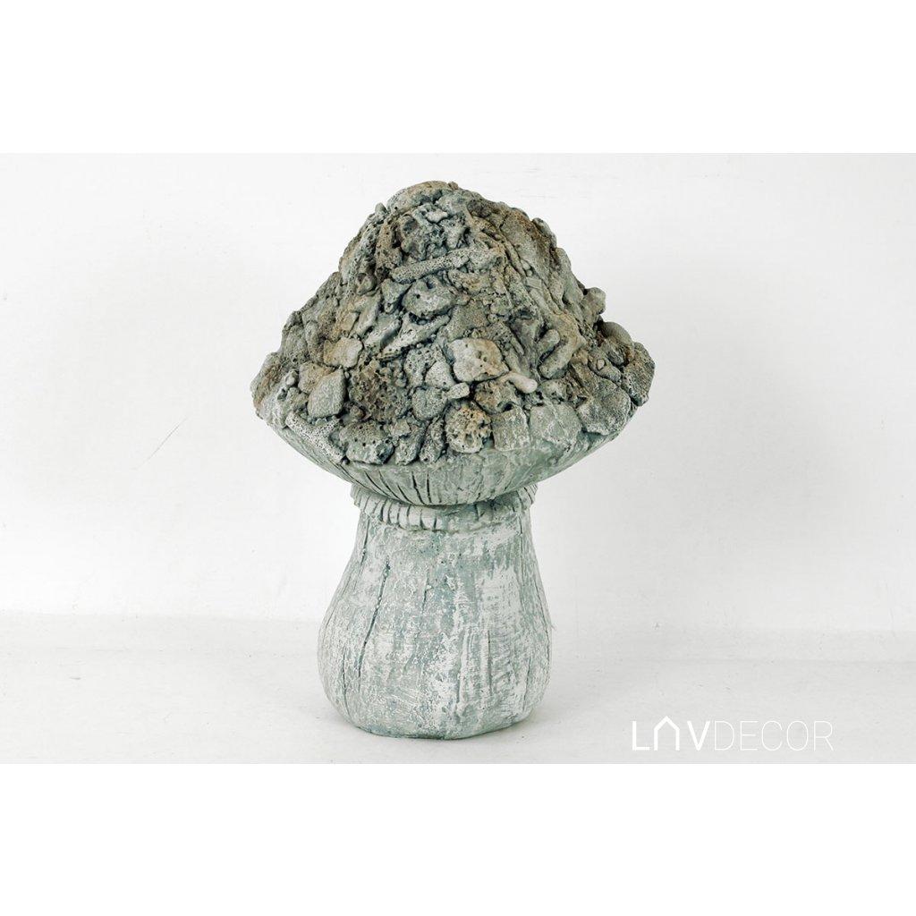 Hríb, MgO keramika 25x25x35 cm