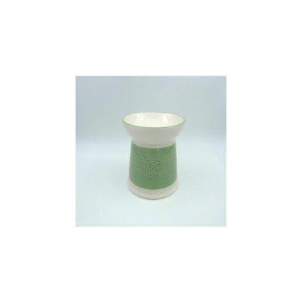 Aroma lampa keramická, farba zelená