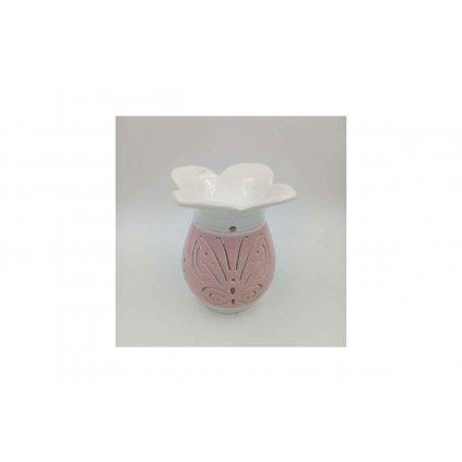 Aroma lampa keramická, farba růžová