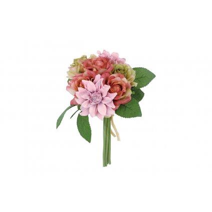 Kytica ruží, farba zeleno-ružová