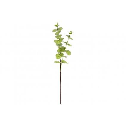 Umelý kvet - eukalyptus, farba zelená 51cm