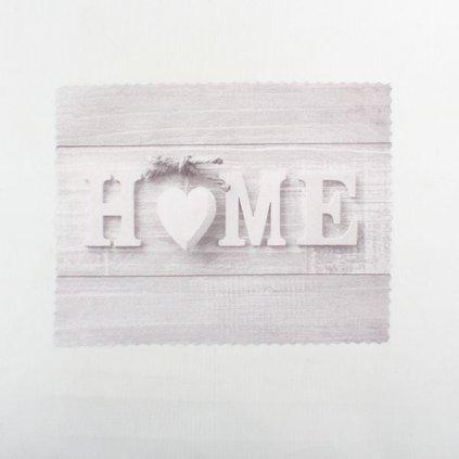 prestieranie home so srdiečkom 35 × 45 cm