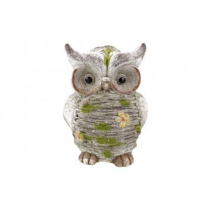 Sovička,dekorácia z MgO keramiky 23,7x32x19,8 cm
