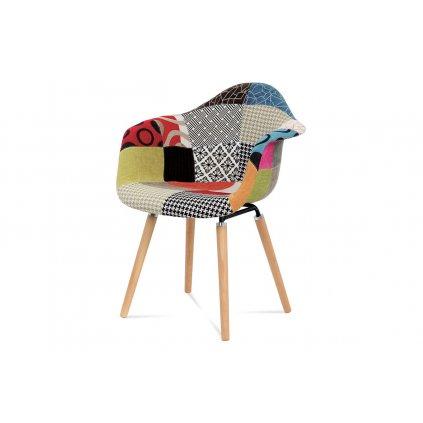 jedálenská stolička patchwork / buk