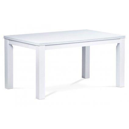 jedálenský stôl 150x90 cm, farba biela
