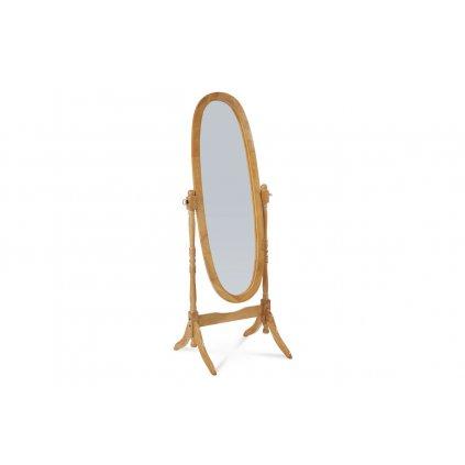 zrkadlo v drevenom ráme, dub