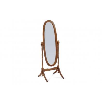 zrkadlo v drevenom ráme, orech