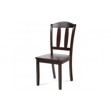 jedálenská stolička celodrevená, orech