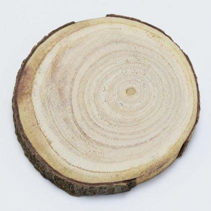Drevený plát 13-15x2cm