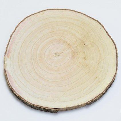 Drevený plát 26-30x2,5cm