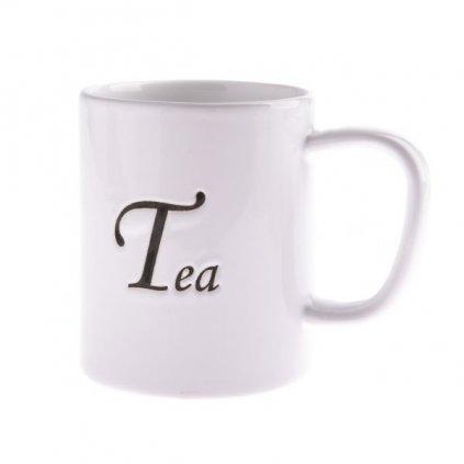 hrnček na čaj keramicky biely 380ml