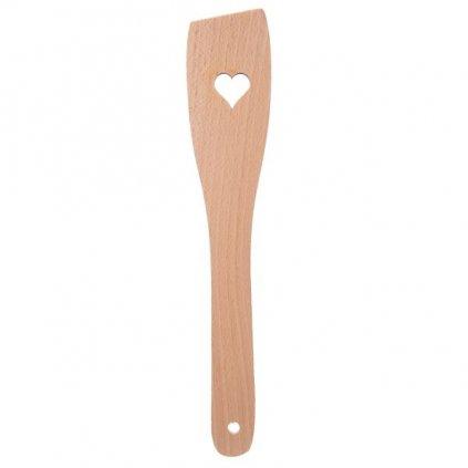Drevená obracačka srdce 30cm
