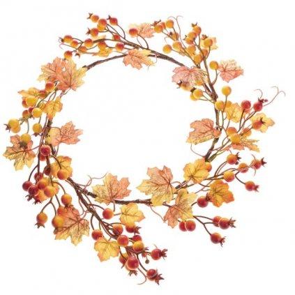 jesenný veniec šipky 32 cm
