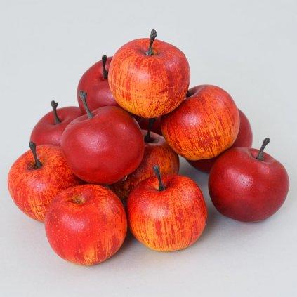 jabĺčko červené na dekorovanie 5cm cena za 1ks