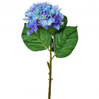 HORTENZIA MODRÁ  umelý kvet 50cm