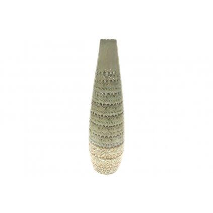 Váza keramická zelená 15.5*15.5*46.5cm