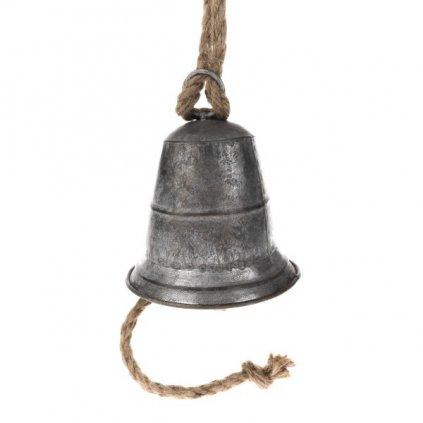 Zvonec kovový závesný  14×16cm