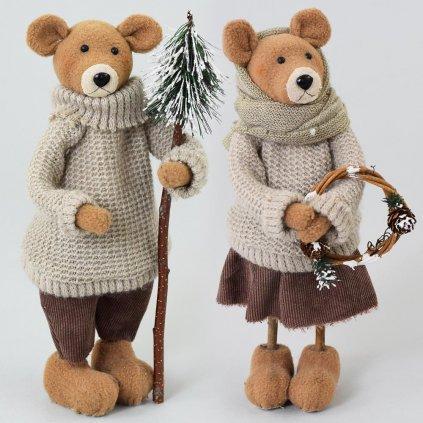 Medvede postavičky mix 14x27 cm
